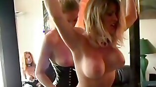 Crazy pornstars Aisha and Morgane Love among others in hottest lingerie, fetish xxx video