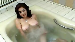 Thick Busty Japanese Mom Fucked Deep