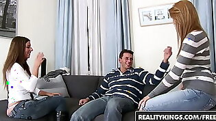 Busty euro Cindy Hope gets her first sex