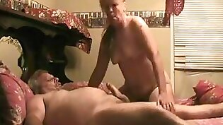 Awesome blowjob with grandpas man - large cocks