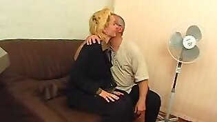 Blonde chick Mercedes Ellis having double fucked out in casting
