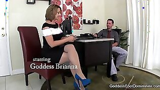 Woman Giving An Interview In Foot Fetish