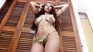 Sizzling Hot Teens Dancing Nude on The Balcony