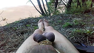 Beautiful trannys loves sucking cocks and fucking them outdoors to naked