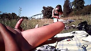 girls flashing tits and doing outdoor sex