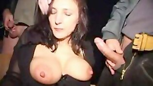 Busting X Busty Perverted District Chick