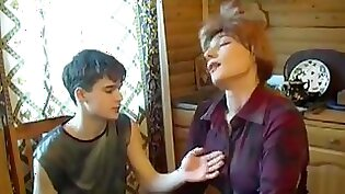 Real mature housewife stuffing inexperienced teen cock