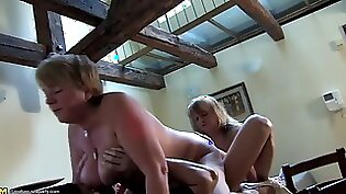 Chubby mature whore fucked by schlong
