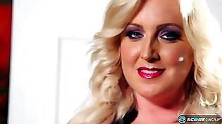 Blonde Milf Tony Bust Busts in This Stalker Game