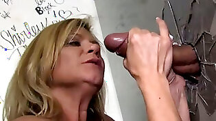 blowjob, sex with mom in gloryhole