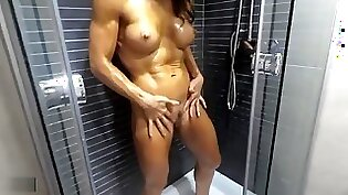 anal passionate squirting shower