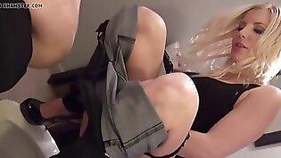 Cosplay slave getting whipped and bounded