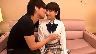 Adorable Japanese schoolgirls win a special