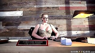 Blond duo doggy brutal sex