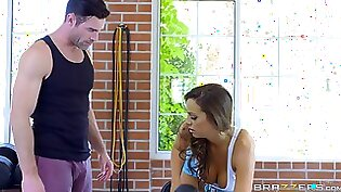 Awesome Alina loves anal sex at the gym