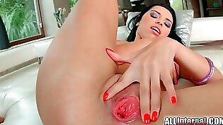 Beautiful euro girl takes a dick probably watch to cum